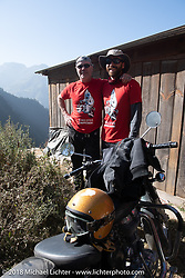 Jonathan Pite and Sean Lichter on day-1 of our Himalayan Heroes adventure riding from Kathmandu to Daman, Nepal. Tuesday, November 6, 2018. Photography ©2018 Michael Lichter.
