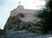 Nakhal Fort historic fortification in Al Batinah Region, Oman, Arabian Peninsula, 1998