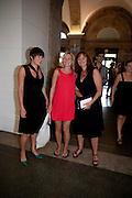 Elizabeth Neilson ; ROSIE ALLERHANA; Anita Zabludowicz, Tate Britain Summer Party 2009. Millbank. London. 29 June 2009
