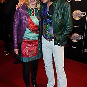 NLD/Amsterdam/20120217 - Premiere Saturday Night Fever, Erwin Nyhoff en partner