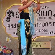 London, UK. 14th April, 2019. Celebrates Thai New Year (Songkran) at Buddhapadipa Temple in Wimbledon known as Songkran Water Festival, London, UK.