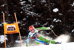 28.12.2017, Stelvio, Bormio, ITA, FIS Weltcup, Ski Alpin, Abfahrt, Herren, im Martin Cater (SLO) // Martin Cater of Slovenia in action during mens Downhill of the FIS Ski Alpine Worldcup at the Stelvio course, Bormio, Italy on 2017/12/28. EXPA Pictures © 2012, PhotoCredit: EXPA/ Johann Groder
