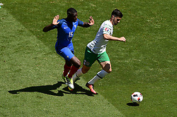 Republic of Ireland win a penalty as Paul Pogba of France fouls  Shane Long of Republic of Ireland to  - Mandatory by-line: Joe Meredith/JMP - 26/06/2016 - FOOTBALL - Stade de Lyon - Lyon, France - France v Republic of Ireland - UEFA European Championship Round of 16