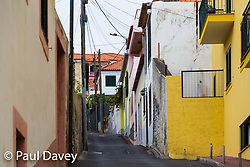 Steep streets define the urban landscape of Funchal, Madeira. MADEIRA, September 25 2018. © Paul Davey
