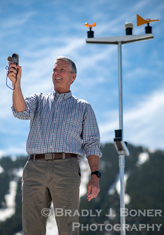 Mountain Weather owner and chief meteorologist Jim Woodmencey has been forecasting in Jackson Hole and the Tetons since 1991. His hyper-local forecasts are the go-to for outdoor entheusiasts eager for a warm spring day or a heavy dump of powder in the mountains.