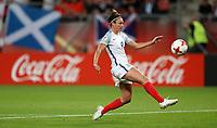 Football - 2017 UEFA Women's European [Euro] Championship - Group D: England vs. Scotland<br /> <br /> Jodie Taylor of England scores her third goal at Stadion Gagenwaard, Utrecht.<br /> <br /> COLORSPORT/LYNNE CAMERON