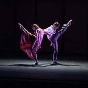 """Mark Morris Dance Group perfoms """"Jenn and Spencer"""" at Libbey Bowl on June 7, 2013 in Ojai, California."""