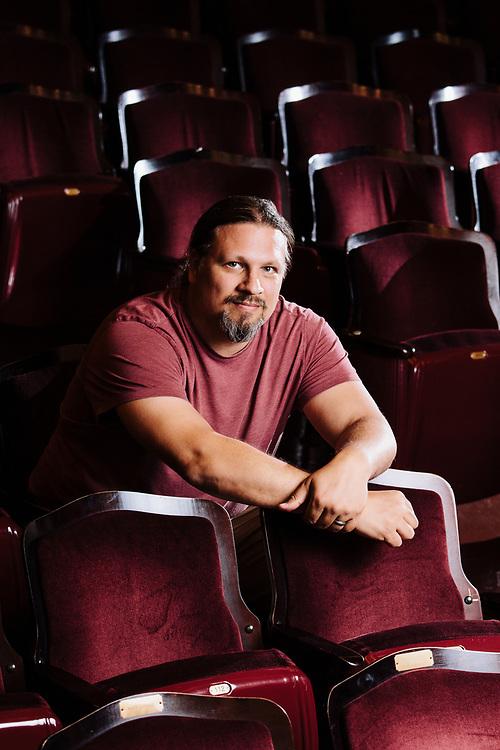 Peter Haas. Photographed at the Veterans Memorial Auditorium in Providence, RI, September 16, 2017.