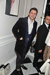 ALLEN LEECH at a party to celebrate thelaunch of Alice Temperley's flagship store Temperley, Bruton Street, London on 6th December 2012.