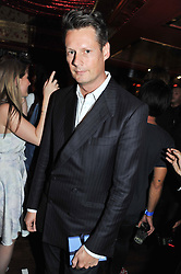 PERCY PARKER at the JW Anderson Top Shop Party held at Madame Jojo's, 8-10 Brewer Street, London W1 on 17th September 2012.