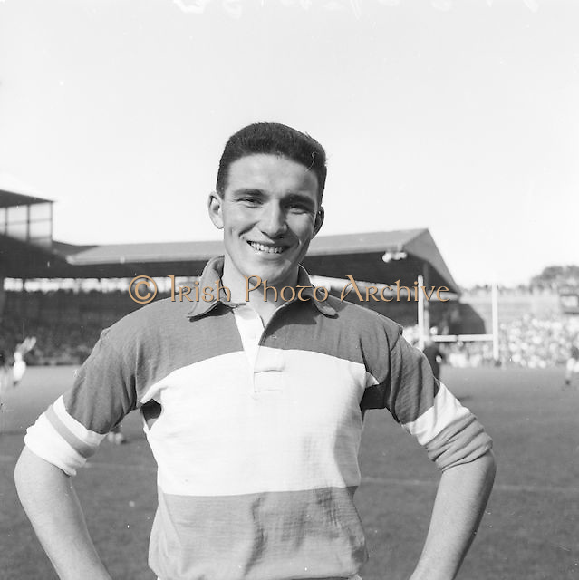 Offaly player at the All Ireland Senior Gaelic Football Final Down v. Offaly in Croke Park on the 24th September 1961.
