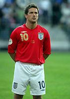Photo: Paul Thomas.<br /> Estonia v England. UEFA European Championships Qualifying, Group E. 06/06/2007.<br /> <br /> Michael Owen of England.
