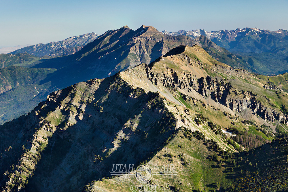 Cascade Mountain with Timpanogos in the background