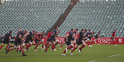 British & Irish Lions during the training session at the QBE Stadium, North Shore City.