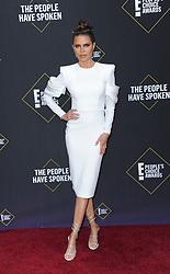 Lisa Rinna at the 2019 E! People's Choice Awards held at the Barker Hangar in Santa Monica, USA on November 10, 2019.