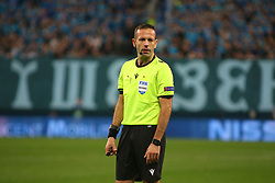 November 5, 2019, Saint-Petersburg, Russia: Russian Federation. Saint-Petersburg. Gazprom Arena. Football. UEFA Champions League. Group G. round 4. Football club Zenit - Football Club RB Leipzig. Player of The main referee Orel Greenfield, judge (Credit Image: © Russian Look via ZUMA Wire)