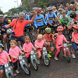 01-09-2017: Wielrennen: Boels Ladies Tour: Weert: Start Gennep