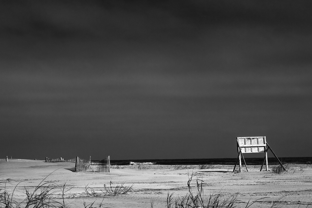 Abandoned  Sign, Foley Beach, Charleston, SC