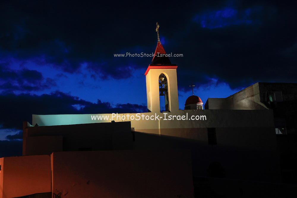 Israel, western Galilee, Acre, 18th century Church of St. John, located within the walled city of Acre - the maritime capital of the Crusader kingdom and the last Crusader stronghold in the Holy Land