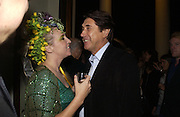 Katrine Boorman and Bryan Ferry. Party for Bret Easton Ellis's book 'Lunar Park'  given by Geordie Greig. Home House. Portman Sq. London.  London. 5 October 2005. . ONE TIME USE ONLY - DO NOT ARCHIVE © Copyright Photograph by Dafydd Jones 66 Stockwell Park Rd. London SW9 0DA Tel 020 7733 0108 www.dafjones.com