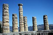 Temple of Apollo Delphi UNESCO World Heritage Site Greece Europe