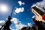 Virgolandia_MG, 24 de abril de 2011..BDI / Pau-de-Sebo..Registro fotografico da tradicional brincadeira do pau-de-sebo, que ocorre normalmente em festas juninas e domingo de pascoa...Foto: NIDIN SANCHES / NITRO