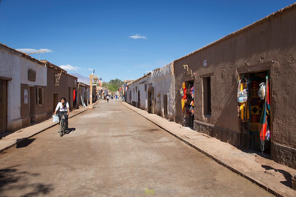 San Pedro de Atacama, Atacama Desert. Chile, South America