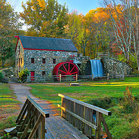 Returned to the historic Wayside Inn Grist Mill to take in the scenery during fall foliage. Autumn colors were still apparent and brilliant. This local New England landmark is located in Sudbury, Massachusetts. <br /> <br /> Sudbury Grist Mill potography images are available as museum quality photo, canvas, acrylic, wood or metal prints. Wall art prints may be framed and matted to the individual liking and interior design decoration needs:<br /> <br /> https://juergen-roth.pixels.com/featured/sudbury-massachusetts-juergen-roth.html<br /> <br /> Good light and happy photo making!<br /> <br /> My best,<br /> <br /> Juergen<br /> Licensing: http://www.rothgalleries.com<br /> Photo Prints: http://fineartamerica.com/profiles/juergen-roth.html<br /> Photo Blog: http://whereintheworldisjuergen.blogspot.com<br /> Instagram: https://www.instagram.com/rothgalleries<br /> Twitter: https://twitter.com/naturefineart<br /> Facebook: https://www.facebook.com/naturefineart