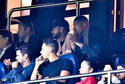 September 18, 2019, Paris, France, France: NEYMAR JR (PSG) et MBAPPE Kylian (PSG)  dans les tribunes (Credit Image: © Panoramic via ZUMA Press)