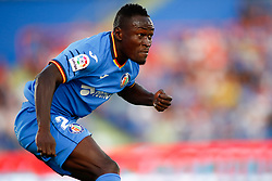 August 24, 2018 - Djene of Getafe during the spanish league, La Liga, football match between Getafe and Eibar on August 24, 2018 at Coliseum Alfonso Perez stadium in Madrid, Spain. (Credit Image: © AFP7 via ZUMA Wire)