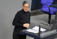 DEU, Deutschland, Germany, Berlin, 27.01.2021: Dr. Nina Scheer (SPD) in der Plenarsitzung im Deutschen Bundestag.