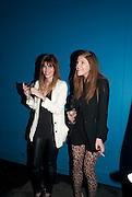 LOU DOILLON; BEX ROX, Browns Club Monaco launch. hosted by Lou Doillon, at the Schools of the Royal Academy of Art. Piccadilly, London. 19 February 2010.  .-DO NOT ARCHIVE-© Copyright Photograph by Dafydd Jones. 248 Clapham Rd. London SW9 0PZ. Tel 0207 820 0771. www.dafjones.com.