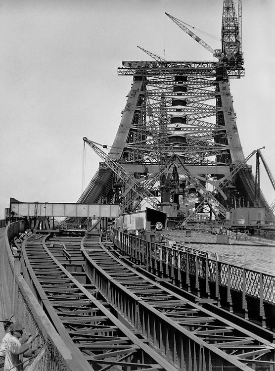Entrance to the New Sydney Harbour Bridge, Australia, 1930