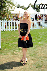 HANNAH SANDLING at the Cartier International Polo at Guards Polo Club, Windsor Great Park on 27th July 2008.<br /> <br /> NON EXCLUSIVE - WORLD RIGHTS