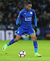 Football - 2016 / 2017 FA Cup - Fourth Round, Replay: Leicester City vs. Derby County<br /> <br /> Ahmed Musa of Leicester at King Power Stadium.<br /> <br /> COLORSPORT/ANDREW COWIE