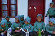 School Lunchtime - Ladakh Himalayas - 2006