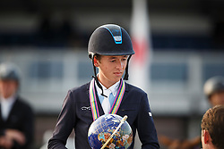 Allen Bertram (IRL)<br /> Final 7 years<br /> FEI World Breeding Jumping Championships for Young Horses - Lanaken 2014<br /> © Dirk Caremans