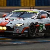 #97 Aston Martin Vantage V8,  GTE Pro, Aston Martin Racing Drivers:  Stefan Mücke, Adrián Fernández, Darren Turner, Le Mans 2012