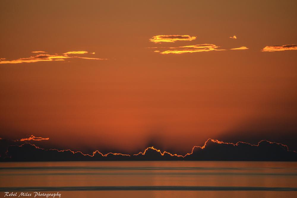 Lake Michigan Late Summer Sunset