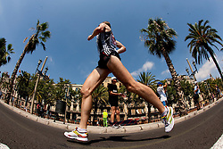 Dave Webb of Great Britain competes in the Mens Marathon during day six of the 20th European Athletics Championships at the roads of city Barcelona on August 1, 2010 in Barcelona, Spain. (Photo by Vid Ponikvar / Sportida)