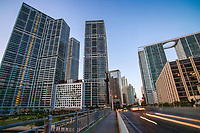Brickell Financial District, Biscayne Boulevard