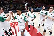 Team Zalgiris Kaunas, AX ARMANI EXCHANGE OLIMPIA MILANO vs ZALGIRIS KAUNAS, EuroLeague 2017/2018, Mediolanum Forum, Milano 9 novembre 2017 - FOTO Bertani/Ciamillo-Castoria