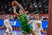 NCAA Women's Basketball-Oregon at Southern California-Feb 21, 2021