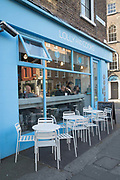 Exterior of Lolly & Cooks coffee shop on 04th April 2017 in Dublin, Republic of Ireland. Dublin is the largest city and capital of the Republic of Ireland.