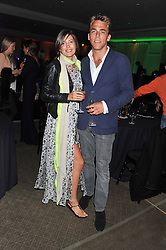 AMANDA FERRY and WILL WELLS at the Veuve Clicquot Experience at The Hurlingham Party following the Polo in The Park held at the Hurlingham Club, London SW6 on 8th June 2012.
