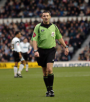Photo: Kevin Poolman.<br />Derby County v Sheffield Wednesday. Coca Cola Championship. 13/01/2007. Ref C W Oliver.