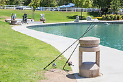 Fishing at Temecula Duck Pond Park