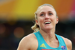 Australia's Sally Pearson wins the Women's 100m Hurdles semi-final heat one during day eight of the 2017 IAAF World Championships at the London Stadium.