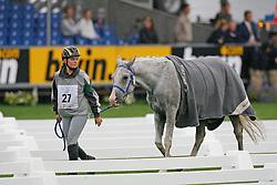 Ceuninck Valerie- Kouros des Iviers<br /> World Equestrian Games Aachen 2006<br /> Photo © Hippo Foto