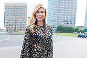 Amsterdam Diner 2019, actief een bijdrage te willen leveren aan een wereld zonder aids.<br /> <br /> Op de foto:  Estelle Cruijff